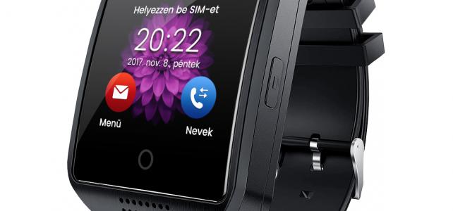 X8 SIM kártyás okosóra magyar menüvel