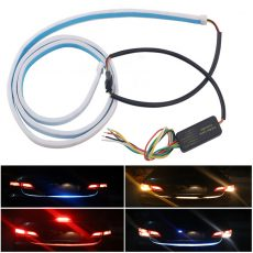 Autó tuning – Hátsó LED kijelző szalag, 4 féle szín