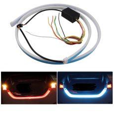 Autó tuning – Hátsó LED kijelző szalag, Kék/Piros